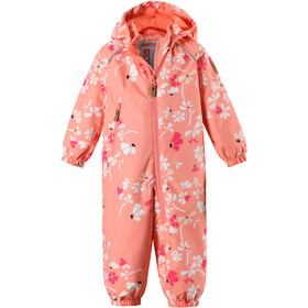 Reima Drobble Overall Girls Coral Pink